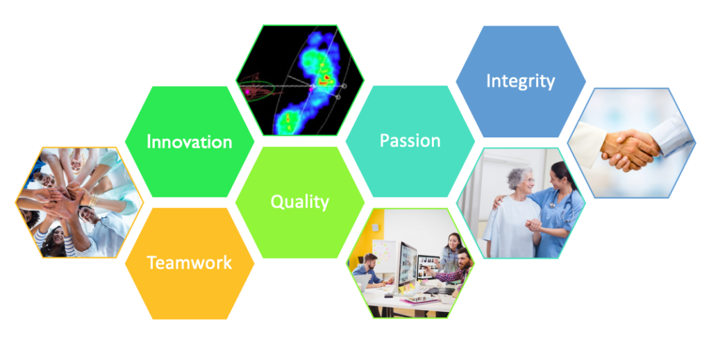 Stepscan Company Values Graphic