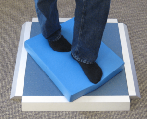 BESS Test with Foam on Stepscan Single-Tile pad System