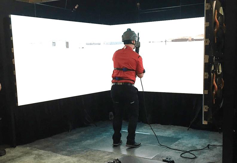 Stepscan Platform Integrated with Training Simulator