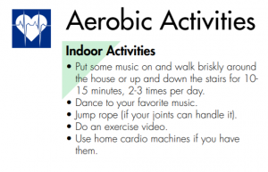 Suggested Aerobic Activities for Seniors At Home
