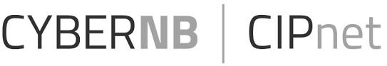 Cyber NB Logo No 2 BW